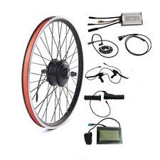 36V 250/350/500W Waterproof E-bike Conversion Kit for MTB Front/Rear Wheel