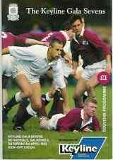 Gala sevens 1993 rugby programme gagnants Gala