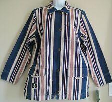 RARE~Ralph Lauren ST MARTIN SAILING sweat shirt Coat Jacket~Women sz L