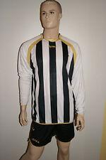Azione! 14 maglia manica lunga-Sets Riad V. LEGEA, Bianco/Nero Mis. S-XL