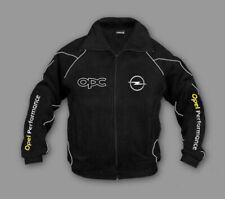 Herren Neu OPEL OPC Bekleidung Fleece jacke mit gestickte emblemen
