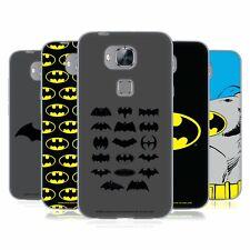 OFFICIAL BATMAN DC COMICS LOGOS SOFT GEL CASE FOR HUAWEI PHONES 2