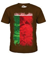 Bielorrusia Grunge Bandera Niños Camiseta Camiseta Top Camisa De Regalo De Fútbol bielorruso bielaru?