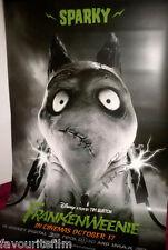 Cinema Banner: FRANKENWEENIE 2012 (Sparky) Tim Burton Winona Ryder Martin Short