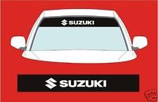 Suzuki sunstrip coche calcomanías gráficos pegatina elegir cualquier 2 Colores de la lista