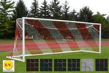 Coppia di Reti x Porte da Calcio Colorata REGOLAMENTARE 7,50 x 2,50 h. Sport