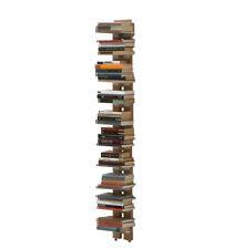 LE ZIE DI MILANO libreria da terra fissata a parete ZIA ORTENSIA faggio massello
