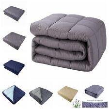 Weighted Blanket 10lbs - 30lbs Heavy Sensory Blanket Promote Deep Sleep Gift