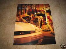 2000 Ford Focus ZX3 LX SE ZTS sales brochure dealer car auto literature