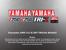 YAMAHA 1986 TRI-Z 250 TANK SHROUD BOOST BOTTLE DECALS