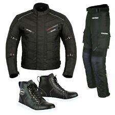 Motorcycle Racing Suit Waterproof and Men's Leather Touring Adventure Sneakers