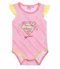 Mädchen Body, Kurzarm  Body Body Superbaby Größe 62  , 80 , 86 , 92 rosagelb