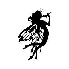 Butterfly Girl Vinyl Decal Sticker for Macbook Air Pro Laptop Car Window Helmet