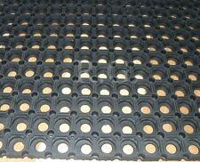 Gummimatte Schmutzfangmatte Ringgummimatte 22mm Paddockplatte 5 Größen