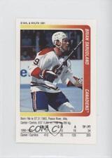 1991-92 Panini Album Stickers 194 Brian Skrudland Montreal Canadiens Hockey Card