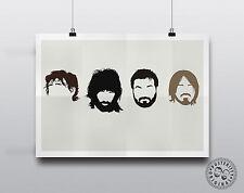 1098 KASABIAN ENGLISH ROCK BAND MUSIC STARS Poster Print Art A0 A1 A2 A3 A4