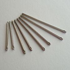 2 x barre di divisione Spille Per Riparazione Orologi bracciale Link acciaio inox taglie 4 - 29