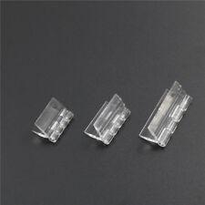 Clear Transparent Plastic Box case Plexiglass Long Hinge Cabinet Kitchen Door JP