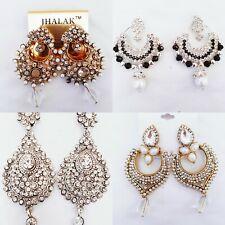 Ladies Dangle Earrings Indian Accessory Fashion Jewellery Elegant Partywear