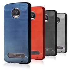Für Motorola Moto Z2 Play Handyhülle Dünn Case Bumper Soft Tasche Hülle Cover
