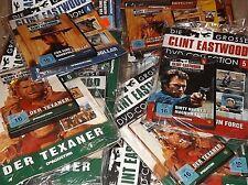 Clint Eastwood Die Grosse DVD-Kollektion # 2-7, zum selber Aussuchen unbenutzt