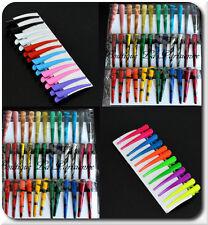 Haarklammer X10 Haarspange Schnabelspange Spange  55 mm Paris  Neon Pastelle