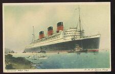 Shipping Cunard RMS Queen Mary PPC