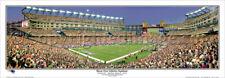NFL NE Patriots Full Moon over Gillette Stadium Panoramic Poster 1042