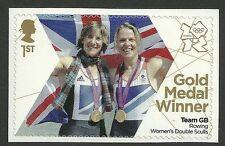 Gr Britain 2012 Olympische spelen 22 ROEIEN DAMES sculls  postfris/mnh