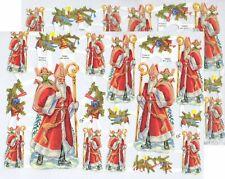 Chromo EF Découpis Saint Nicolas 7208 Embossed Illustrations Christmas