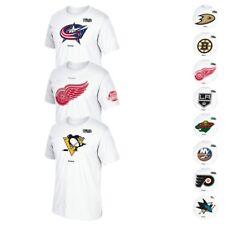 2016-17 NHL Various Primary Team Logo w/ Centennial 100th Patch T-Shirt Men's