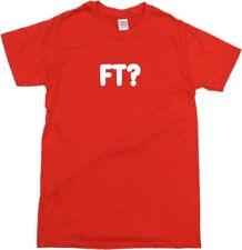 FT? Personalised Custom Printed Letter T-Shirt - Football, Hooligan, VariousCols