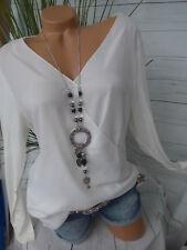 Sheego Shirt Bluse Gr. 40/42 - 56/58 hinten länger (393) Vokuhila NEU