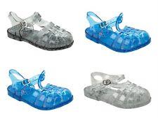 GIRLS GLITTER SUMMER HOLIDAY BEACH JELLY SANDALS FLAT SHOES KIDS UK SIZE 11-3