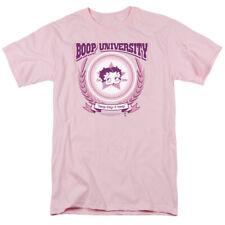 Betty Boop Boop University Mens Short Sleeve Shirt