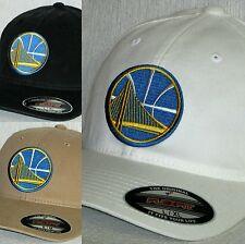 "Golden State Warriors ""FLEX FIT"" CAP 🏀HAT🏀NBA PATCH/LOGO🏀3 SIZES/COLORS 🏀NEW"