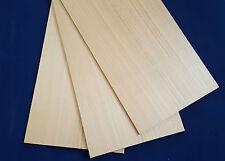 1 × fogli di legno massello di ciliegio 3mm, 4mm o 6mm