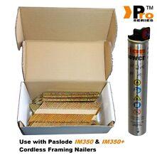 1k nails &1 Fuel Cell,Paslode/ Hitachi Nailers-Framing Nails,Clipped D-Head  023