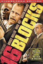 16 Blocks (DVD, 2006, WS) - New