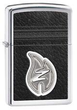 Zippo Z Leather stitching a petición con personas. grabado nuevo 60000248