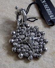Dyrberg Kern Anhänger Nohely Shiny Silver / Crystal