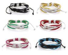 Lederarmband Armband Leder Surferarmband Damenarmband  & Herrenarmband