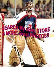 #33 Gilles GRATTON WEREWOLF Mask! New York RANGERS Custom LAB 8X10 SUPERB Nice!