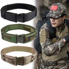 Herren Armee Militär Taktischer Gürtel Tactical Belt Nylon Metallschnalle 4cm