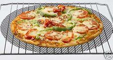 NEW BLACK PIZZA MESH OVEN SHEET/TRAY- FOR CRISPY BASES 36CM D