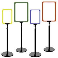 VP0= Plakatständer Set 0 mit Plakatrahmen DIN A5 A4 Aufsteller höhenverstellbar