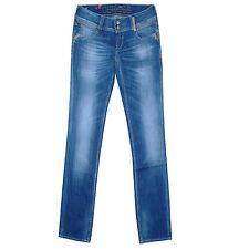 LE TEMPS DES CERISES Jeans regular DOFY NO BROKEN wide belt femme taille 31 US