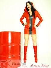 Dress-kleid , latex-gummi 100% PRODUCER -BOLINGIER   -POLAND-FS1281