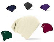 Beechfield bonnet souple taille unique Multicolore 100% acrylique chaud hiver