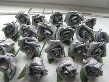 15 Brillo Rosa Diamante Ojal Corsage & Pins Boda Flores-Todos Los Colores